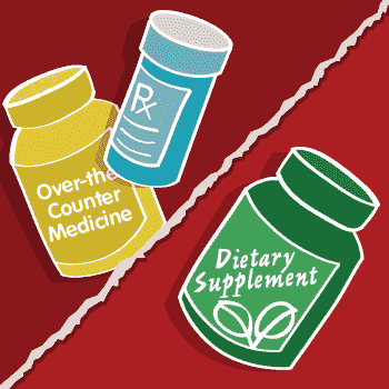 Non-Prescription Drugs, Drug-Supplement Interactions, Drug-Induced Nutrient Depletion